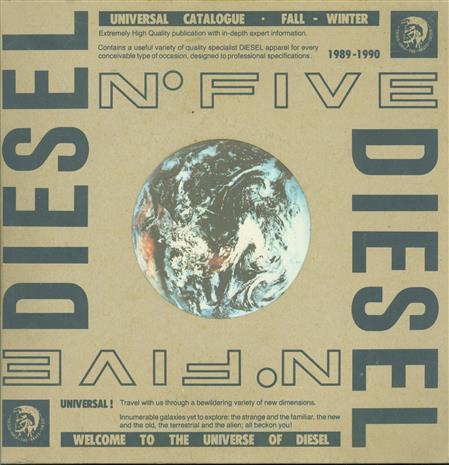 Universe of DIESEL - Diesel catalogue.No 5