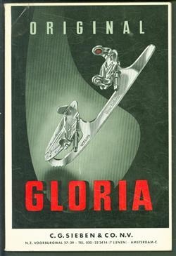 (BEDRIJF CATALOGUS - TRADE CATALOGUE) C. G. Sieben en Co N.V. - Original Gloria - Prijscournt september 1964 ( Schaatsen, rolschaatsen gereedschap enz )