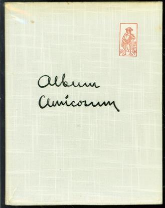 Album amicorum 1961, uitgegeven door het Utrechtsch Studenten corps ter gelegenheid van het driehonderd-vijfentwintig-jarig bestaan van de Rijksuniversiteit