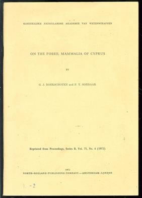 On the fossil Mammalia of Cyprus