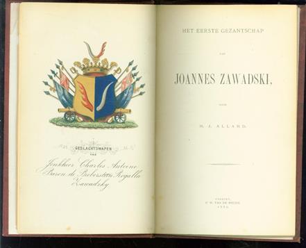 Het eerste gezantschap van Joannes Zawadski