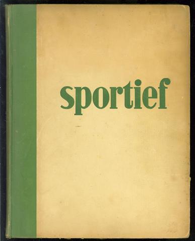 Sportief, weekblad voor alle sporten - ( 2e jaargang 1947