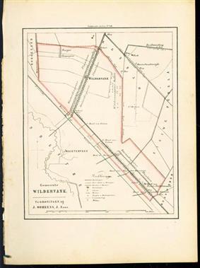 (GEMEENTE KAART - MUNICIPALITY MAP) - Wildervank