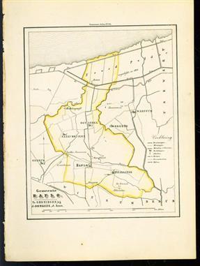 (GEMEENTE KAART - MUNICIPALITY MAP) - Baflo