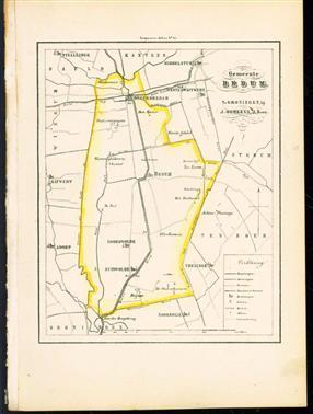 (GEMEENTE KAART - MUNICIPALITY MAP) - Bedum
