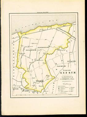 (GEMEENTE KAART - MUNICIPALITY MAP) - Eenrum