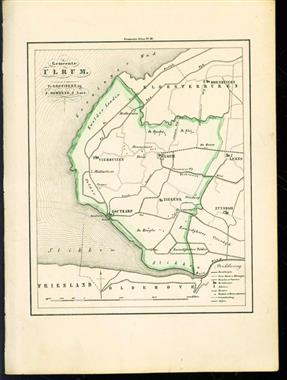 (GEMEENTE KAART - MUNICIPALITY MAP) -  Ulrum
