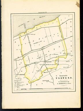 (GEMEENTE KAART - MUNICIPALITY MAP) - Ukswerd