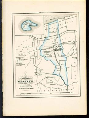 (GEMEENTE KAART - MUNICIPALITY MAP) - Warffum